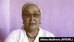 Безработная Асия Аяуова. Актобе, 15 августа 2010 года.