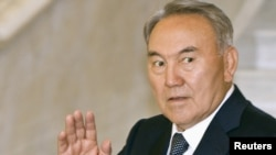 Нұрсұлтан Назарбаев. Aстана, 13 маусым 2011 жыл.
