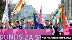 Первый за 4 года гей-парад в Белграде