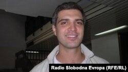 """Антонио Јовановски, координатор на проектот """"Македонија без отпад"""" во Куманово."""