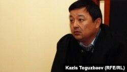 Мәжит Мұқатов, Алматы қалалық сотының судьясы. Алматы, 4 қаңтар 2012 жыл