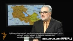 Պավել Ֆելգենգաուերը «Ազատություն TV»-ի եթերում, 25-ը հունվարի, 2015թ․
