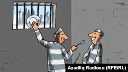 Azərbaycanda media azadlığına həsr olunmuş karikatura