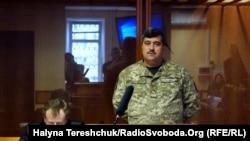 Засідання апеляційного суду у спаві генерала Назарова у Дніпрі, 21 лютого 2019 року. На фото –генерал-майор Віктор Назаров
