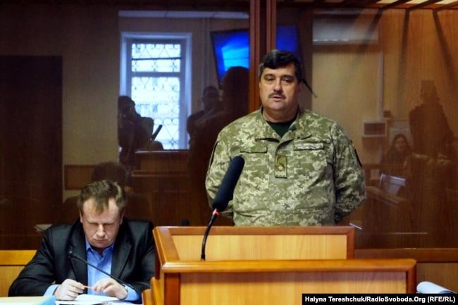 Генерал Віктор Назаров у цивільному суді.