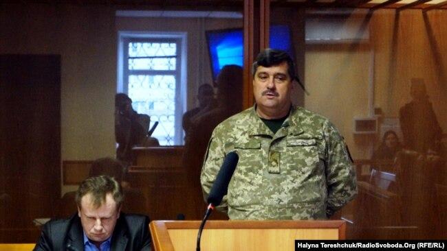 Віктор Назаров під час судового засідання