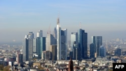 Франкфурт-на-Майне. Четверть банковских активов еврозоны сосредоточена в Германии