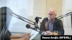 Žarko Korać u razgovoru sa novinarkom RSE Brankom Trivić, april 2016.
