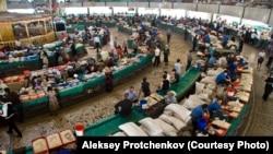 Chorsu bozori. Aleksey Protchenkov olgan surat.