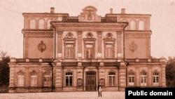 Мінській театр, де проходили розігнані більшовиками Всебілоруські збори