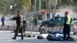 Afghan Vice President Escapes Suicide Attack After Returning From Exile GRAB
