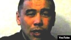 Скриншот с видеообращения Куаныша Каниева, заключенного тюрьмы АК-159/7 в Карагандинской области. Опубликовано в конце 2011 года.