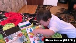 Ирина Жетпісованың бес жасар ұлы Дәулет. Теміртау, 12 желтоқсан 2018 жыл.
