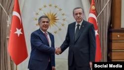 Татарстан президенты Рөстәм Миңнеханов һәм Төркия президенты Рәҗәп Таййип Эрдоган