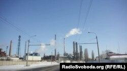 Хімічний завод «Зоря» у місті Рубіжне в Луганській області