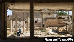 خرابههای شهر تلبیسه در حمص