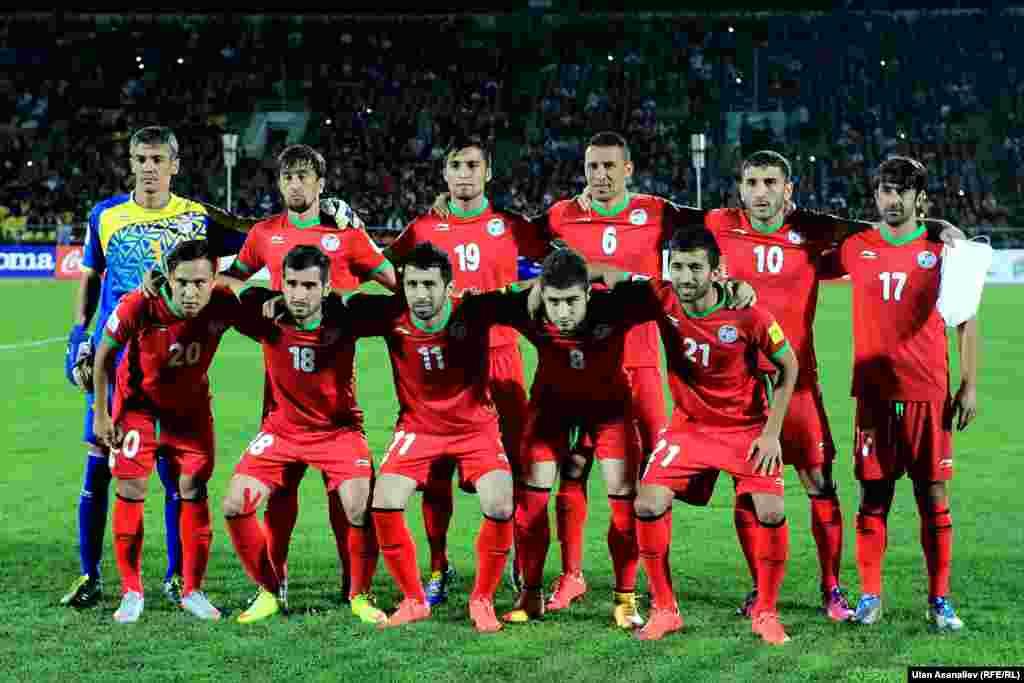 Сборная команда Таджикистана