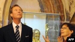 Великий Герцог Анри Люксембургский в Праге, ноябрь 2010 г