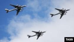 Orsýetiň Tu-95 kysymly bombalaýjy uçarlary