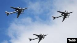 Российские межконтинентальные бомбардировщики Ту-95. Иллюстративное фото.