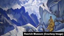 """Николай Рерих. """"Чаша нерасплесканная"""" (1927), новое приобретение музея Рериха в Нью-Йорке"""