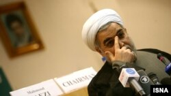 Поранешниот ирански преговарач за нуклеарната програма Хасан Рохани.