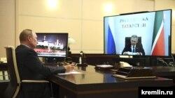 Рөстәм Миңнеханов, Владимир Путин