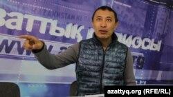 Режиссер Ермек Турсунов. Архивное фото.