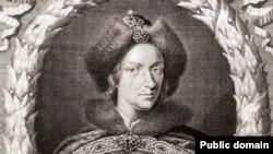 «Великий царь московский». Гравюра Р.Уайта. 1698 год