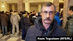 "Yevgeny Zhovtis, the head of the Kazakhstan International Bureau for Human Rights and Rule Of Law, said that ""if the decision is politically motivated there is not much hope for us."""
