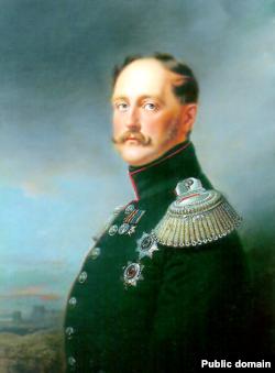Портрет російського царя Миколи Першого