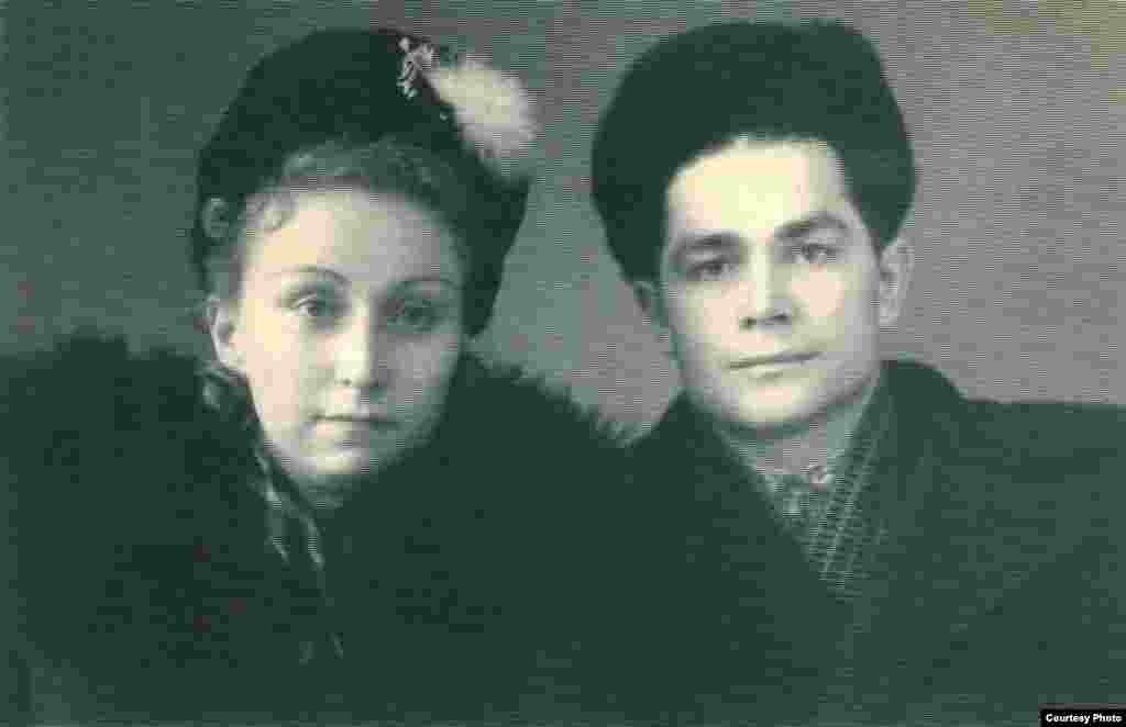 Василь Макух з дружиною Лідією