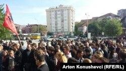 Pamje nga protesta e së enjtes
