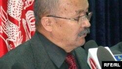 د مخدره موادو پر وړاندې د مبارزې وزارت پخوانی وزیر جنرال خدایداد