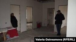 В недостроенном доме семьи Ботниковых