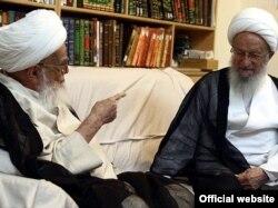 ناصر مکارم شیرازی و لطفالله صافی گلپایگانی؛ این دو روحانی ارشد از اصلیترین مخالفان حضور زنان در ورزشگاهها هستند