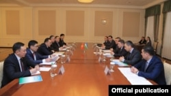 Заседание межведомственной координационной рабочей группы между МВД Узбекистана и МВД Кыргызстана.