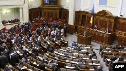 Жоғарғы Раданың сессиясы. Киев, 13 наурыз 2014 жыл.