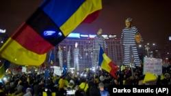 Proteste antiguvernamentale la București