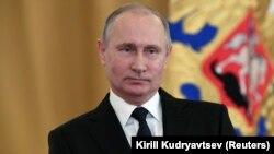 Russian President Vladimir Putin (file photo)