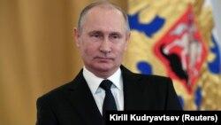 Прэзыдэнт Расеі Ўладзімір Пуцін