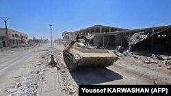 Sirijska vojska u gradu Dare