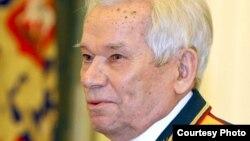 Оружейный конструктор Михаил Калашников.