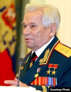 Mikhail Timofeyevich Kalashnikov in a 2013 photo