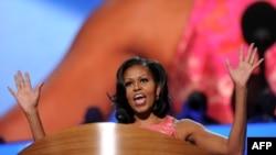 Выступление Мишель Обамы на съезде демократов