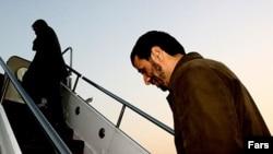 محمد جواد ظريف می گوید سفر محمود احمدی نژاد به نیویورک لغوشده است