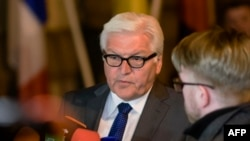 "German Foreign Minister Frank-Walter Steinmeier said in the letter that Germany strongly supported the swift implementation of the DFCTA, adding that ""time is running short."""
