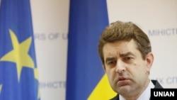 Речник міністерства закордонних справ України Євген Перебийніс