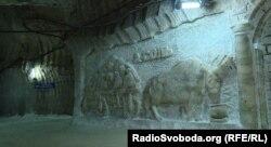 Соляна шахта ДП «Артемсіль», місто Соледар