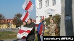 Ушанаваньне памяці паўстанцаў у Сьвіслачы 31 кастрычніка